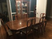 Lexington Classic Oak Rectangle Dinning Room Set For 8-mount Holly Nc Pick Up