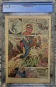 Amazing Spider-man 129 Wrap Cgc Pg First Punisher And Encounter With Spider-man