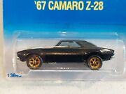 Hot Wheels '67 Camaro Z-28. Seattle Toy Show Exclusive. Only 8000 Made. Sold Out