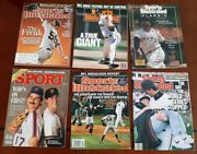 Sports Illustrated Sport Lot Of 6 San Francisco Giants 1988-2012 World Series