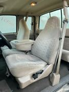 99 00 Ford F250 Super Duty Xlt Used Front 40/20/40 Manual Cloth Tan Seats
