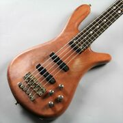 Warwick Cs Streamer Stage Ii 5st / Natural Used Electric Bass