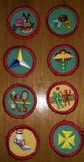 76 Vintage Girl Scout Patches - Choose One - National And Suffolk County Ny