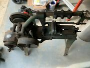 Rare Antique Champion Blower And Forge Power Hack Saw 100 Years Old
