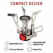Gas One Backpacking Stove With Fuel - All Season Isobutane Camping -...