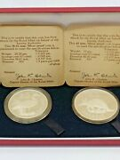 1977 Republic Of The Gambia Proof Silver Coin Set