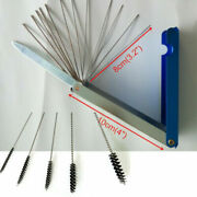 New Motorcycle Carburetor Carbon Dirt Jet Remove Cleaning Needle Brush Tool Set