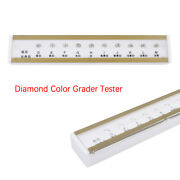 10ct Diamond Color Grading Tester Set Gia Color Scale D-m Color Reference Tool