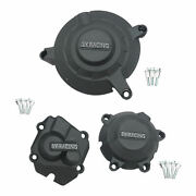3pcs Engine Cover Accessories Fit For Kawasaki Zx-10r 2011-2021