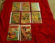 Vintage Comic Book Front Pages Only 8 Used