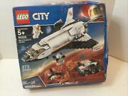 Lego City Space Mars Research Shuttle 60226 273 Pcs - Sealed Damaged Box W/tape