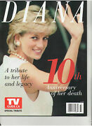 Princess Diana Di Of Wales 10th Anniversary Of Her Death Tv Guide Magazine 2007