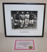 Vtg Bruce Murray Collection Shibe Park 1928 Limited Print Cobb Babe Ruth Gehrig
