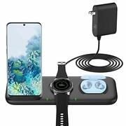 Yootech 3 In 1 Fast Wireless Charger For Samsung Devices 22.5w Max Wireless C...