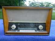 Saba Wildbad 125 German Tube Radio - Tested Working On Am Stations Only
