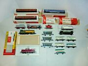 Fleischmann Ho Trains Big Lot Enginestrackcars And More
