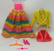 Rare Vintage Barbie Clothes Doll Mod Era Outfit 3492 Flying Colors Complete