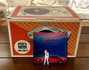 New 3 Inch Crosley Mini Turntable / Beck 3inch Record Included Free Usa Ship