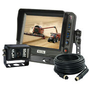 New Excavator 5 Back Up Rear View Ccd Camera System And Camera Observation Kit