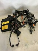 Evinrude Etec 50hp Emm Pcm Computer With Injectors And Harness.