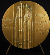 Medal Abbey Our Lady Of Bec Hellouin Earl Gilbert Of Brionne 1983 Medal