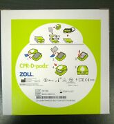 New Zoll 8900-0800-01 Cpr-d-padz Adult Electrode For Aed Plus Exp Dec 7 2024