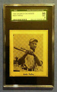 1947 Sports Exchange B.b. Miniatures Andy Pafko Cubs Rc Rookie - Sgc 9 Mint