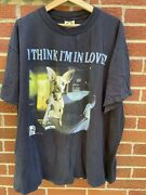 Vintage 1998 Taco Bell Chihuahua I Think I'm In Love T-shirt Men's Size Xxl