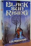 Black Sun Rising Coldfire By C S Friedman - Hardcover Excellent Condition