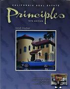 California Real Estate Principles By Walt Huber Mint Condition
