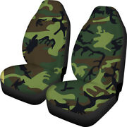 For U Designs Universal Car Seat Cover 2pc Full Set Various Colorful Patterns