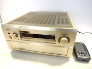 Denon Avc-a1se Av Amplifier With Remote Control Used Tested Working Rare Japan