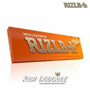 Rizla Liquorice With Filters For Rolled Cigarettes Short Papers - 100 Genuine