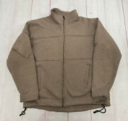 Massif Mountain Gear Company Tactical Military Jacket Nomex Flame Resistant L