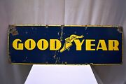 Good Year Tire Vintage Porcelain Enamel Sign Board Advertising Collectibles 13