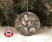 Personalized Christmas Ornaments Gifts First Christmas Married Decorations