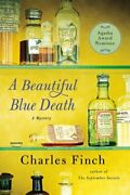 A Beautiful Blue Death Charles Lenox Mysteries By Charles Finch Excellent