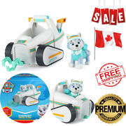 Paw Patrol Everestandrsquos Snow Plow Vehicle With Collectible Figure Andlrmmulticolor