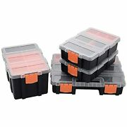 Toolbox Organizer Sets 4 Piece Hardware And Parts Organizers Compartment Small