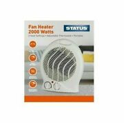 Upright Fan Heater 2kw 2000w Portable Electric Hot And Cold Air - Fast Delivery