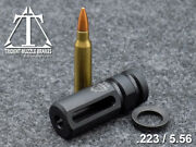 1/2x28 223 Muzzle Brake With Free Crush Washer. Custom Made In The U.s.a.