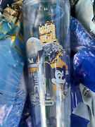 Disney Park Starbucks 50th Anniversary Clear Tumbler Vault Collection Sold Out