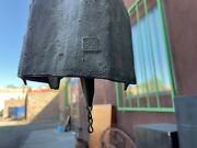 Vtg Mid Mod Paolo Soleri Large Bronze Wind Chime Bell W/ Chain 18.5 T 6x7 Dome