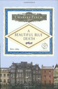 A Beautiful Blue Death Charles Lenox Mysteries By Charles Finch - Hardcover
