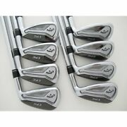 Used Club/japan Secondhand Callaway Epic Forged Star Forgeed Iron Zeros Set Of