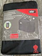 Weber 7152 22 Performer Premium And Deluxe Charcoal Grill Cover Black - New