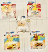 Hot Wheels 2021 Tom And Jerry Scooby And Shaggy Fred Flintstones Full Set Brand New
