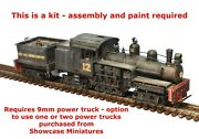 N Scale Class C Shay Locomotive Shell Kit By Showcase Miniatures 5016