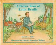 A Picture Book Of Louis Braille Picture Book Biographies By David A. Adler Vg+