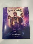 Doctor Who The Collection Season 12 Blu Ray 1st Run Ed. Signed Tom Baker Oop